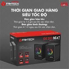 Loa vi tính Gaming siêu gọn nhẹ Fantech GS203 BEAT LED RGB Gradient đẹp mắt  - Hãng Phân Phân Phối Chính Thức - Loa