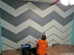 wall paint patterns using tape interior wall painting designs with painters tape how to do yourself