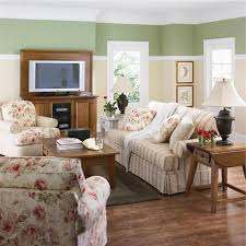 Patterned Chairs Living Room Living Room White Shelves Gray Sofa Brown Chairs Gray Recliners