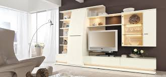 modern white media center   Interior Design Ideas.