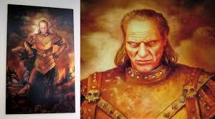 lifesize vigo the carpathian replica painting from ghostbusters 2