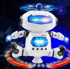 ĐÁNH GIÁ] ROBOT ĐỒ CHƠI THÔNG MINH XOAY 360 ĐỘ HIỆU ỨNG ĐÈN ĐẸP MẮT, Giá rẻ  305,000đ! Xem đánh giá! - Cửa Hàng Giá Rẻ