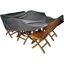 Housse de protection pour table NATERIAL L.200 x l.130 x H.60 cm ...