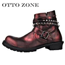 Mens Designer Boots Us 105 29 19 Off Otto Spring Autum Mens Chelsea Shoes Boots Handmade Leather Ankle Boots Oxford Casual Vintage Designer Boots Eu 40 46 In Stock In