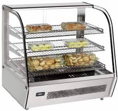 zanduco 27 countertop curved glass display warmer food display merchandising zanduco us