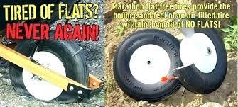 Wheelbarrow Tire Size Chart No Flat Wheelbarrow Tire Run More Tires Abobo Info