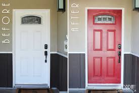 white front doorPaint it Red  Old Paint Design