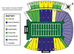 Ecu Football Stadium Seating Chart Google Search Navy