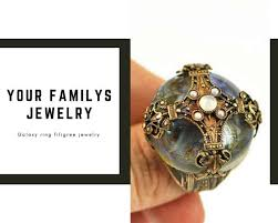 filigree can portray distinct shapes or arabesque designs choose handmade filigree jewelry for important meetings dates or weddings