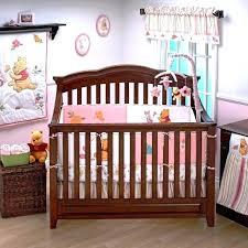 winnie the pooh crib bedding pink pooh crib bedding set image of the pooh nursery bedding