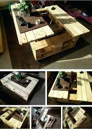 multifunctional coffee table how to build this exquisite multifunctional coffee table from just two pallets multifunction multifunctional coffee table