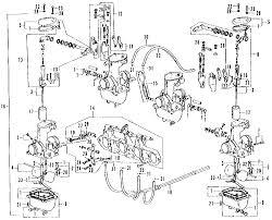 honda cb500 four cb 500 k2 illustrated parts list diagram manual 1973