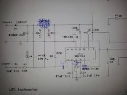 led tachometer project electronics forums sorry if this th is a little old i am attempting this circuit as well just to clarify mechtronics your suggestions to the circuit are