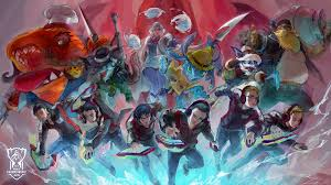 lol size 16 teams 16 artists worlds wallpapers are here league of legends