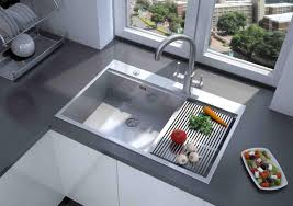awesome stainless kitchen sink for elegant fitures beside glass window as well gray granite countertop backsplash kitchen sinks for granite countertops n52 sinks