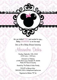 Diy Mickey Mouse Invitation Template Baby Shower Invitations ...