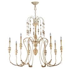 style chandeliers french country chandelier maison antique white 8 light kathy kuo