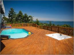 above ground pool with deck and hot tub. Deck And Hot Tub Rectangle Above Ground Pool With Lap  Cool Ideas | Pinterest Pools Above Ground Pool With Deck And Hot Tub