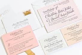 wedding invitations plurabelle calligraphy & design studio Michael Kors Wedding Invitations wedding invitations molly suber thorpe plurabelle 07 jpg Walmart Wedding Invitations