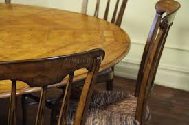 Large 64 84 Round Solid Oak Dining Table With Leaves