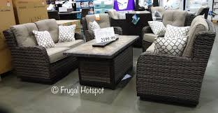 costco agio eastport 5 pc woven