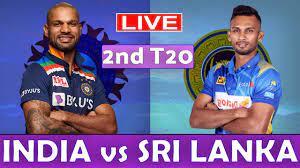 India vs Sri Lanka 2nd T20