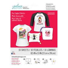 Jolee S Boutique Easy Image For Light Fabrics Instructions Easy Image Light Transfer Paper