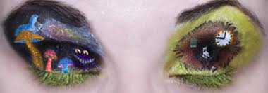 alice in wonderland eye shadow