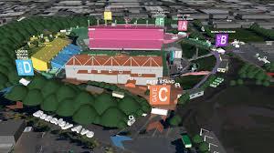 Venue Flyover Map Ed Sheeran Concerts Mt Smart Stadium 2018
