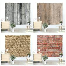rug wall hanging creative bricks wooden floor tapestry beach throw mat yoga rug wall hanging bedding