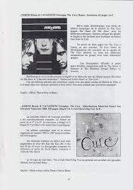 Three Imaginary Boys France May 1990 N 33 The Cure