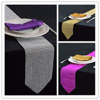 table runners canada. luxury table runners 275*12cm bling sparkly diamond mesh crystal rhinestone wedding runner high quality 1pcs lot from dropshipping suppliers canada o