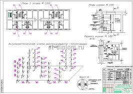 Диплом ТГВ Теплоснабжение жилого района в г Ижевск 5 Планы аксонометрия