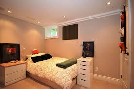 White Floor Lamp Basement Bedroom Decorating Ideas Black Leather Padded  Headboard Bed Black Metal Base Legs As White Round Pendant Lamp Brown  Leaves Pattern ...