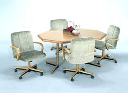 chair on casters swivel kitchen chairs with wheels kitchen chair on casters lovable kitchen table and