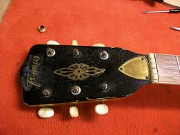 guitar restoration framus fret jet 1965 graham parker luthier click to enlarge