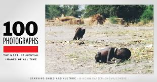 Starving Child and Vulture | 100 <b>Photographs</b> | The Most Influential ...