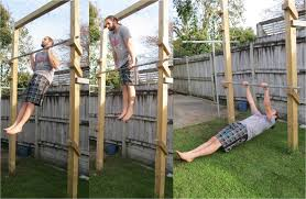 Pull Up Ladder Crossfit  Pull Up Muscle Up And Australian Pull Backyard Pull Up Bar Plans