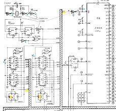 ms pac man bootleg repair log the big chip on the right is the z80 and the input pin at top left marked yellow is the clock input pin this connects to the striped diagram bus