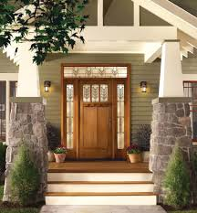 Thermatru for a Modern Entry with a White Door and Smooth-Star ...