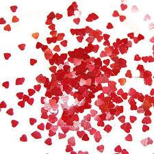 Cosmetic Glitter - <b>Heart Shaped Sparkle</b> Glitter Flakes For Nail Art ...