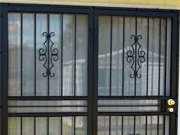patio door security gate