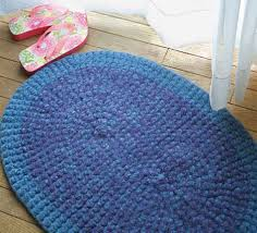 Crochet Patterns Crochet Rug (Felted) - Halcyon Classic Rug Wool