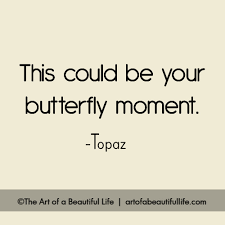 Beautiful Moment Quotes Best Of This Could Be Your Butterfly Moment The Art Of A Beautiful Life