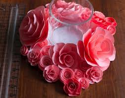 Wedding Paper Flower Centerpieces 14 Diy Flower Crafts For Weddings Or Spring Blissfully Domestic