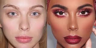 makeup artist transforms white model into black woman business insider
