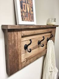 Decorative Wall Coat Racks Coat Racks inspiring wood wall coat rack Entryway Coat Hooks Wood 67