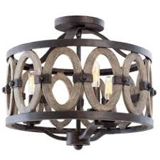 lighting miz lacey semi flush driftwood entwined ovals ceiling light semi flush perfect for the beac