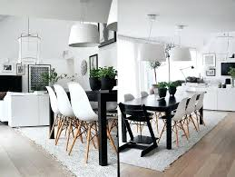 white and black dining room table. White Dining Table Set Bright Room Tables Light Fixture Combined High Backrest Chairs Sets Clearance And Black