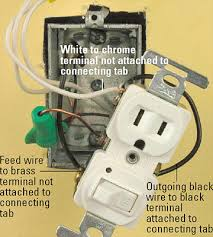 all about combination switches and receptacles better homes gardens switch controlled receptacle